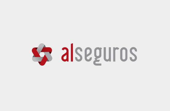 website e imagem corporativa para Al Seguros