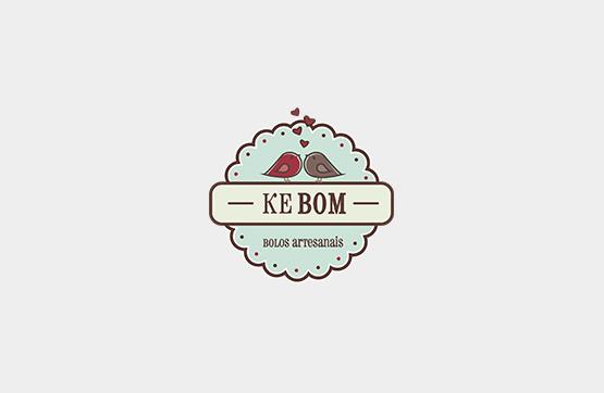 logotipo para kebom