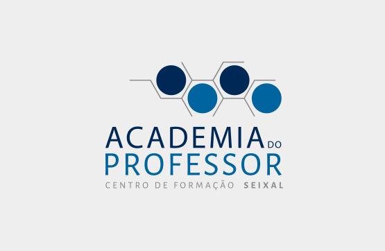 logotipo para academia do professor