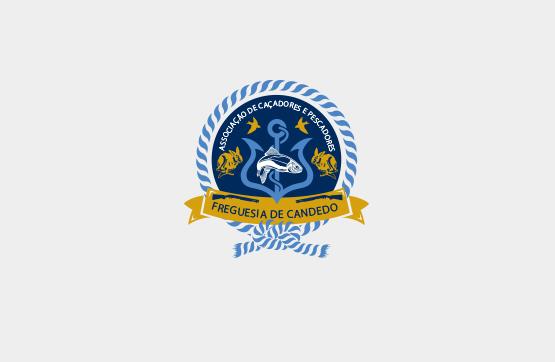 logotipo desenvolvido para associaçao de caçadores de candedo