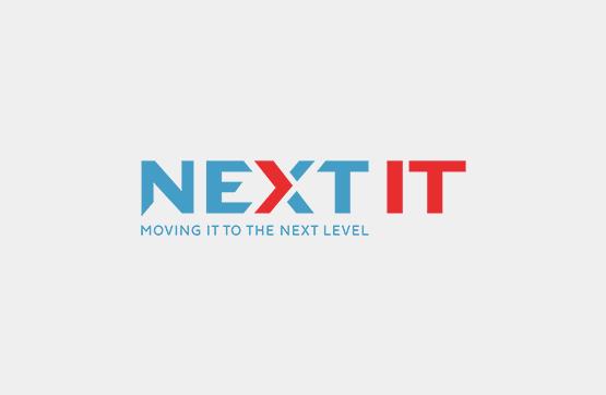 website e imagem corporativa desenvolvida para NEXT IT