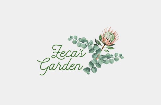 imagem corporativa para Zecas Garden