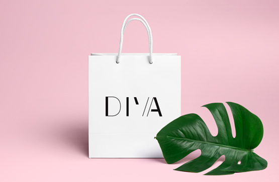 packaging para DIVA
