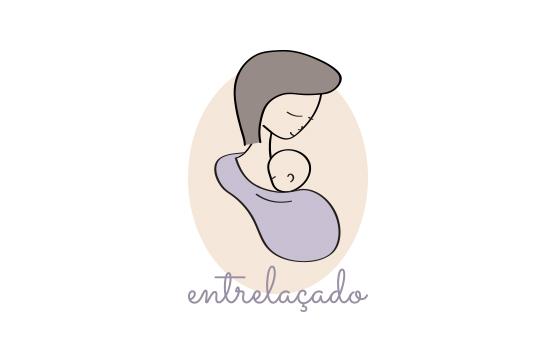 logotipo para entrelaçado
