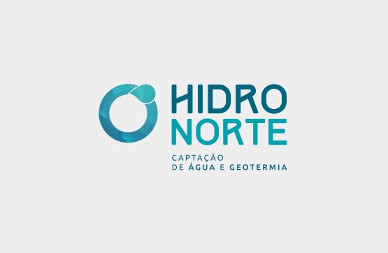 logotipo desenvolvido para hidronorte
