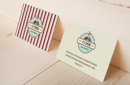 cartões de visita da kebon