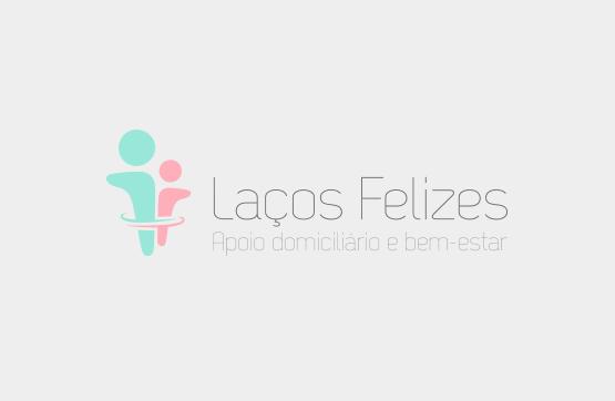 logotipo desenvolvido para lacos felizes