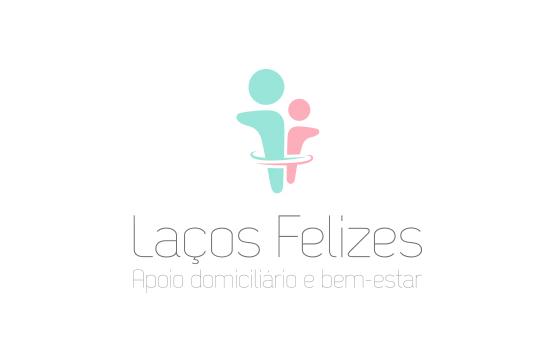 website e logotipo para laços felizes