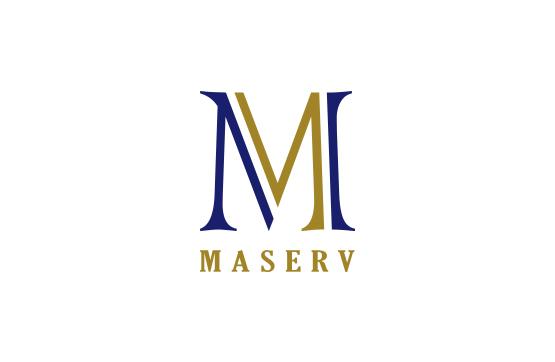 logotipo desenvolvido para maserv