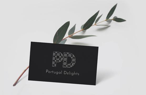 cartão de visita da portugal delights