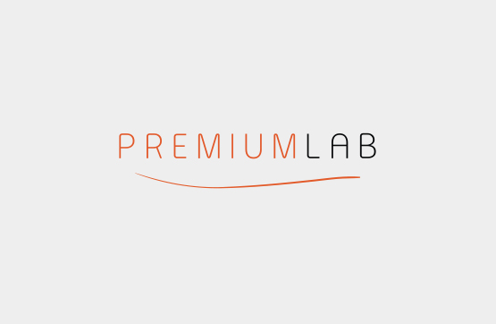 logotipo desenvolvido para premium lab