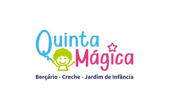 logotipo desenvolvido para infantário quinta mágica