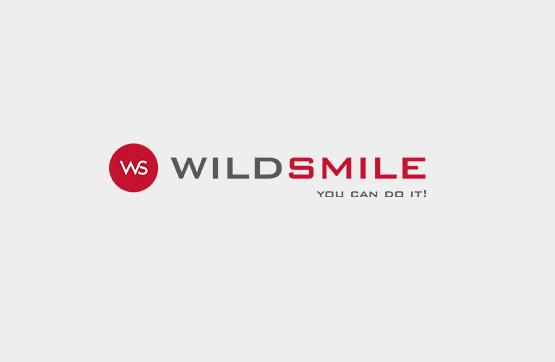 logotipo criado para wildsmile