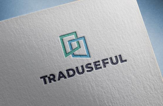 aplicação do logotipo em papel de carta