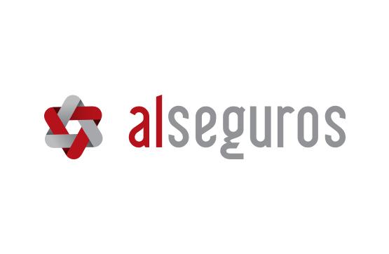 logotipo para al seguros