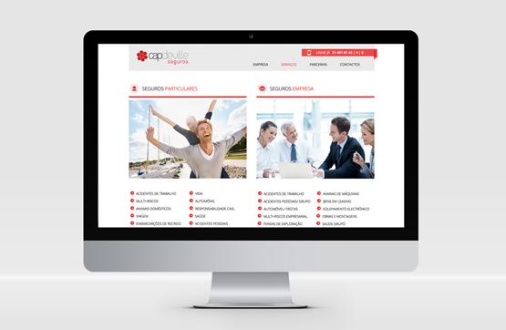 webdesign implementado