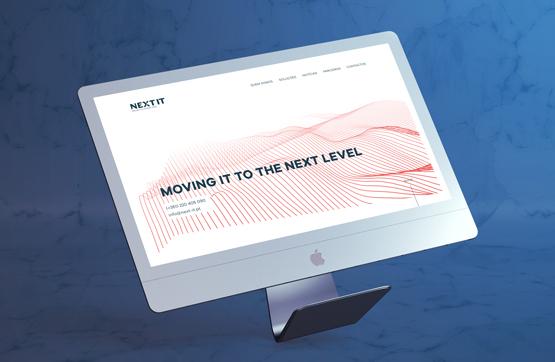 website desenvolvido para next it