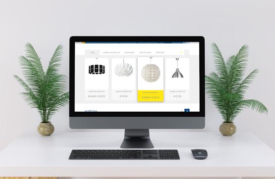 website desenvolvido para Planeta Luz
