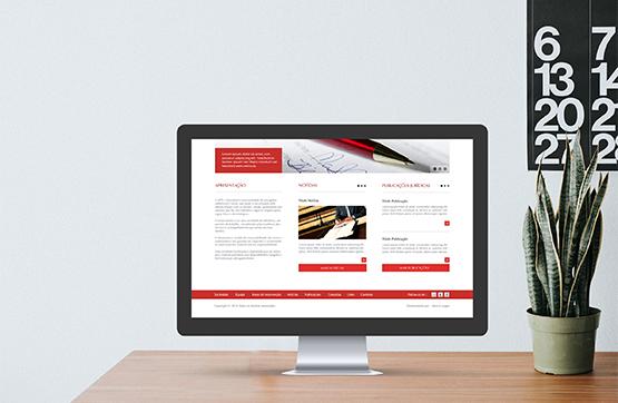 layout do website