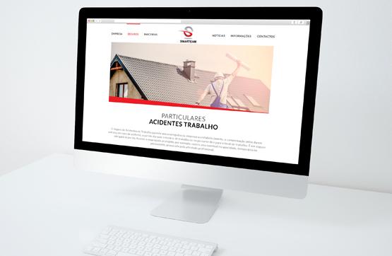 website desenvolvido para smarteam