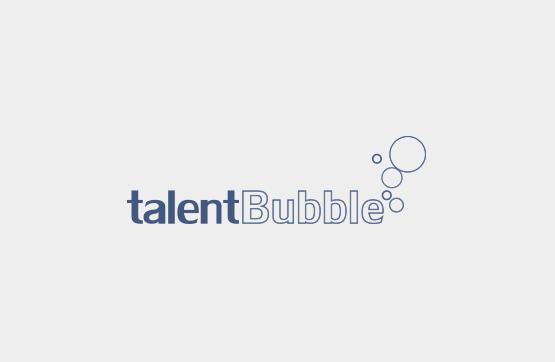 logotipo para talent bubble