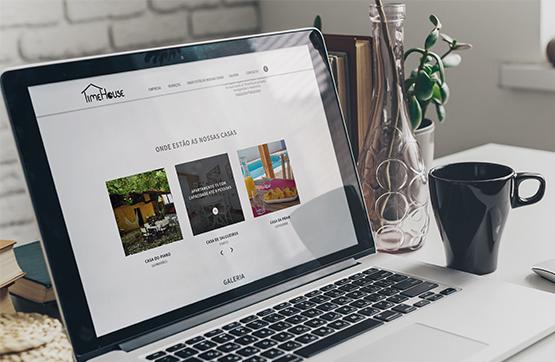 webdesign para Time House
