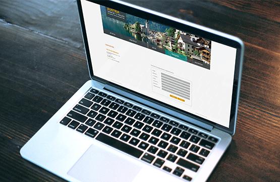 visualização do website da volta mundo